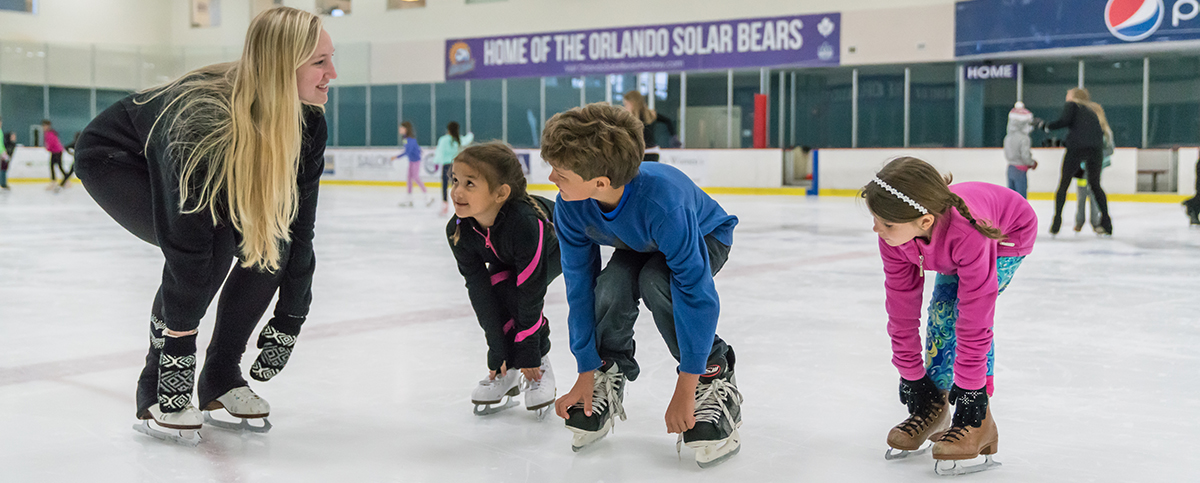 Hockey Ice Skating Lessons - Learn to Skate USA